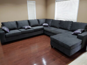 BRAND NEW SECTIONAL- AVAILABLE IN MANY COLORS(11ft. x 11ft.)