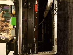Rocktron Hush Super C, Line 6 g30 wireless, Behringer V-amp Pro