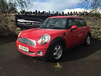 Mini Hatch 1.6 cooper 3dr Hatchback 2010 59 plate in red