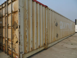 20', 40' and 53' storage containers