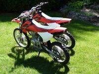 Honda CRF 150F - Two bikes for sale
