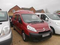 2010 CITROEN DISPATCH 1200 HDI 120 LWB high top 2 berth new conversion