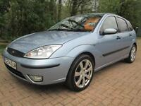 04/54 FORD FOCUS 1.6 ZETEC AUTOMATIC 5DR HATCH IN MET BLUE (P/X TO CLEAR)