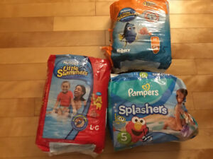 Little swimmer Diapers   Size Medium & Large