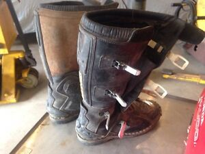 Motocross boots size 10