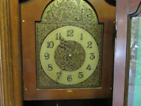 CLOCK GRANDFATHER CLOCK ANTIQUE BY BIRKS (WITH SERIAL NO.)