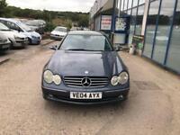 Mercedes-Benz CLK270 2.7TD CDI Avantgarde - 2004 04-REG - 8 MONTHS MOT