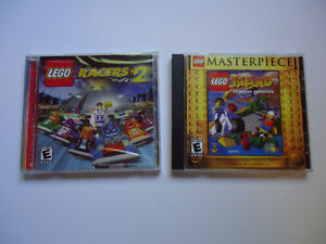 Lego Island and Lego Racers 2 - PC games