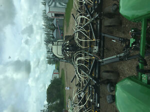 09 50ft seedmaster air drill 06 bourgault 6450 tank