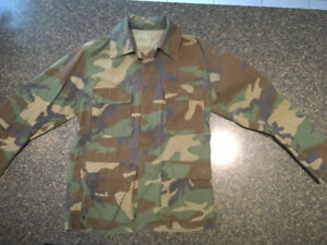 AUTHENTIC CAMOUFLAGE ARMY JACKET FOR SALE