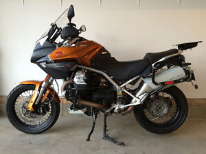 2014 Moto Guzzi Stelvio - Perfect Condition - All Touring Extras