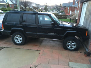 1999 Jeep Cherokee - REBUILD PROJECT