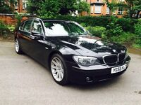 BMW 7 SERIES 3.0D SE DIESEL, LWB, AUTO/SAT NAV/ LEATHER