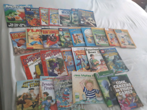 Lot of 30 kids book titles for $15