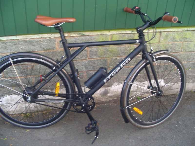 Ultra Lightweight Electric Hybrid Bike Gt Freego Raptor Only 14 5