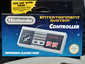 Official Nintendo Mini NES Classic Controller (EU Packaging)