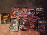 Kids DVD bundle batman transformers