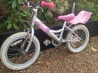 Girls 18inch bike
