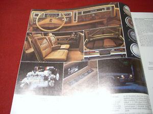 1981 Oldsmobile sales brochure Peterborough Peterborough Area image 3