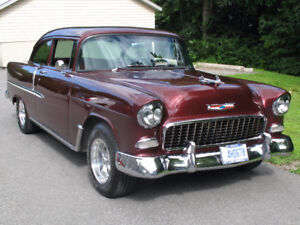 A GORGEOUS 1955 CHEVROLET 150  LOADED with options!!