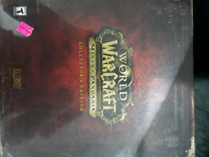 World of warcraft mist of pandaria collectors edition sealed