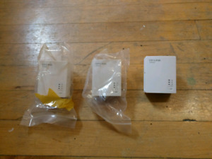 PowerLine Ethernet Adapters 200Mbps x3