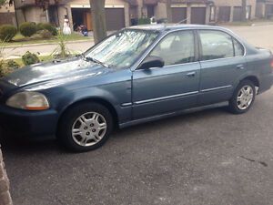 Clean Daily Driver 1998 Honda Civic EX for $600 OBO, AS IS!