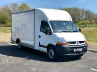 2008 58 RENAULT MASTER 2.5 DCI 120 LL35 LUTON LOW LOADER* 36000 MILES* TAILLIFT