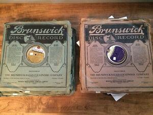 "40 Brunswick 12"" Shellac Records"