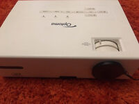 optoma ex530 projector and 6 foot wide projector screen