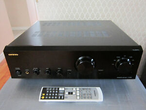 Onkyo A-9555 Integrated Digital Stereo Amplifier Black