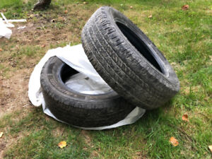 USED TIRES - 235/60R18