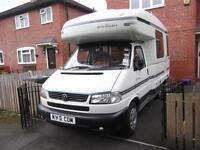 AUTOSLEEPER GATCOMBE, VW T4, 2 BERTH, END KITCHEN, SHOWER, TOILET, EXCELLENT