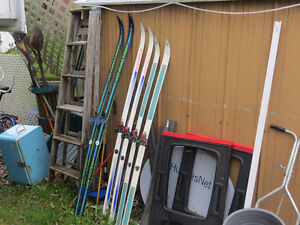 3 Sets of Cross Country Ski's