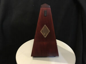 Wittner Metronome (Without Bell) Mahogany Wood Casing