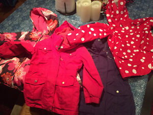Large lot of girls 3-4 year old  clothes and jackets