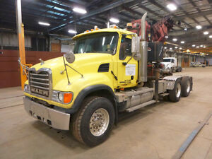 2004 Mack CV713 Boom Truck UP FOR AUCTION