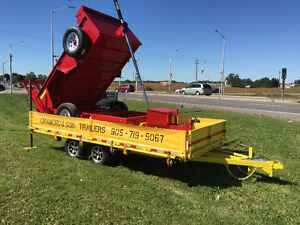 DUMP TRAILERS BY CRAMERO TRAILERS FALL SPECIAL London Ontario image 2