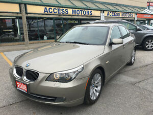 2008 BMW 535i Nav,Distance adjustment cruise,Line detector