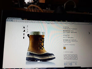 Caribou Sorel waterproof boots size 5 London Ontario image 3