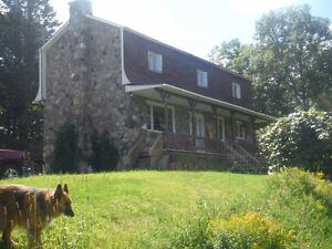 45 acre hobby farm, 30 mins. from Ottawa/ Gatineau, Oct. 1st .