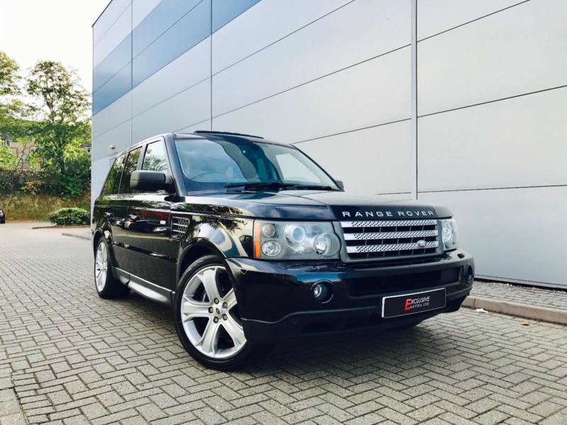 2006 06 Land Rover Range Rover Sport 4.2 Supercharged + Black + 2 x TVs