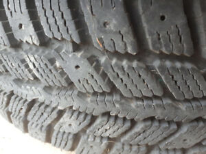 Winter tires with rims 195/60R15