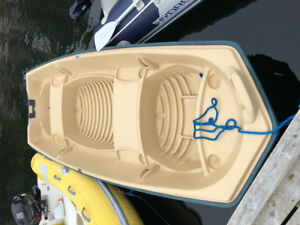 12 foot propylene Jon boat.. Great for fishing or as a tender.