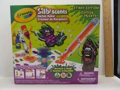 Crayola Silly Scents Marker Maker Stinky Edition  Brand New