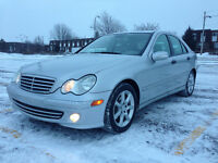 2005 MERCEDES BENZ C230 KOMPRESSOR 4 PORTES IMPECCABLE 4.995$