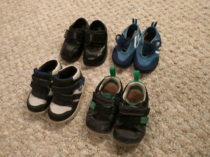 Boys shoes size 3 and 4 toddler