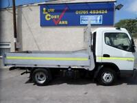 Mitsubishi Cvs Canter 35 Swb 3C15-25 C/C Dropside Lorry 3.0 Manual Diesel