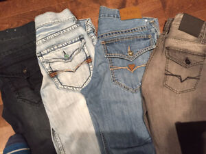 jeans guess et buffalo taille 32