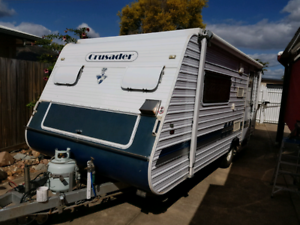 16Ft' DREAM HAVEN CARAVAN 2005 Model
